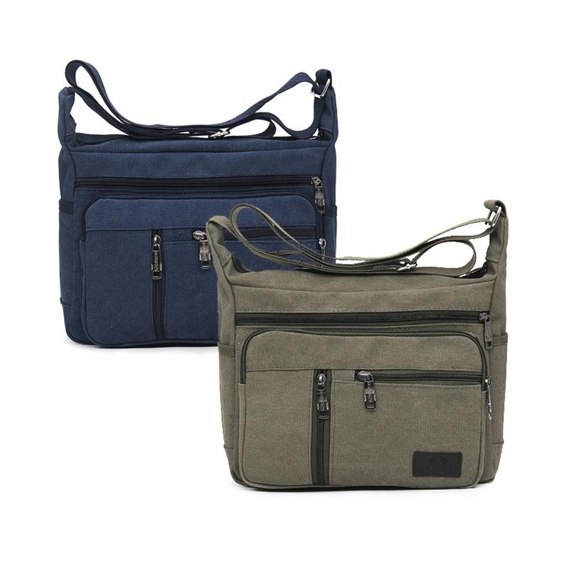 ODMLatest Design Fashion Chest bag Travel Men canvas crossbody Bag