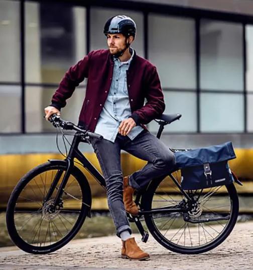 Custom Waterproof Business Carry-on Bag Cycling Riding School Shoulder Bag Unisex Bicycle Storage Pannier BikeBag