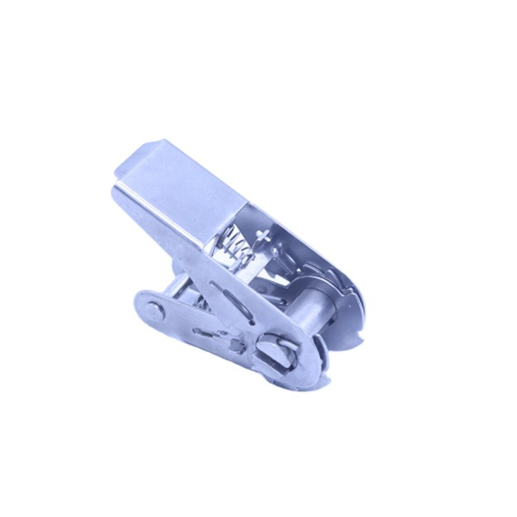 high strength stainless steel truck body parts adjustable ratchet buckles for trailer