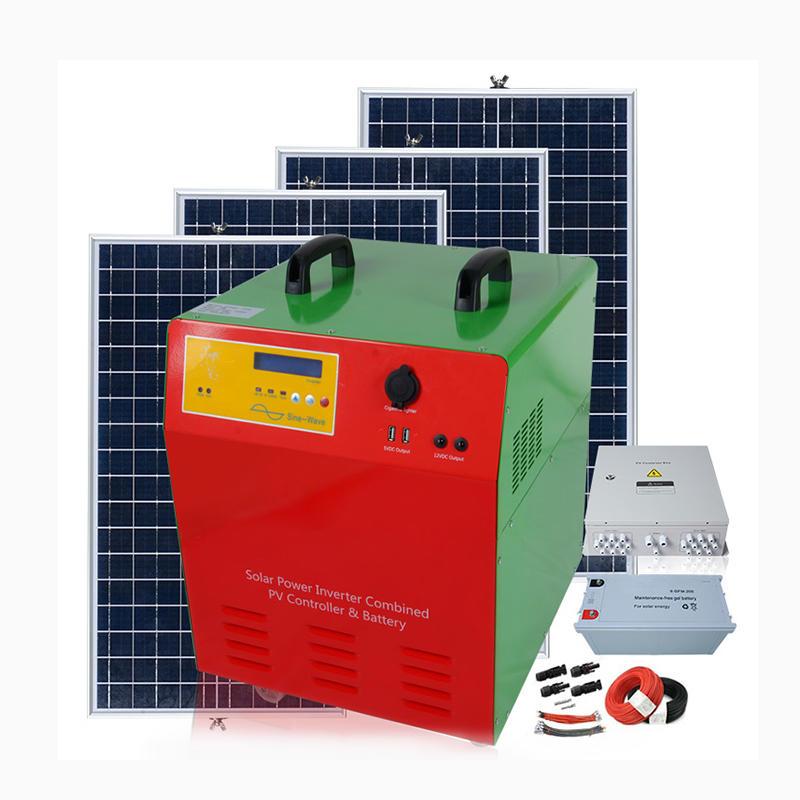 Inverter 300w 500w 1kw Peak Pure Sine Wave Voltage Transformer Converter 50/60Hz Solar Inverter