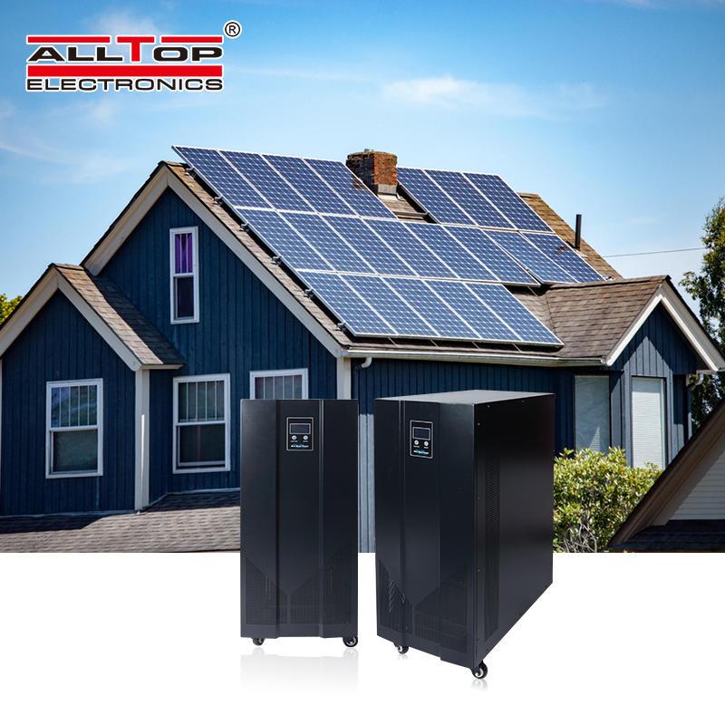 Hot selling 10 kva 15 kva solar systems energy storage commercial inverter generator solar power inverter system