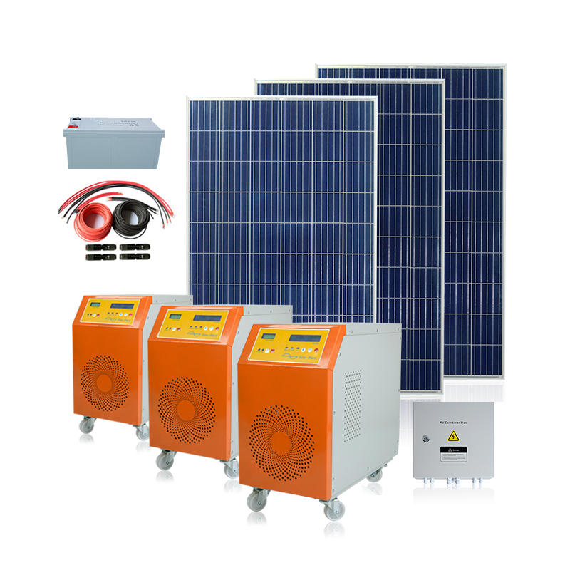 Complete Off Grid 500w 3 Phase 15kw Solar Panel System