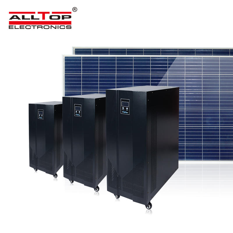 Hot selling 10 kva 15 kva solar systems energy storage commercial inverter generator solar power inverter system