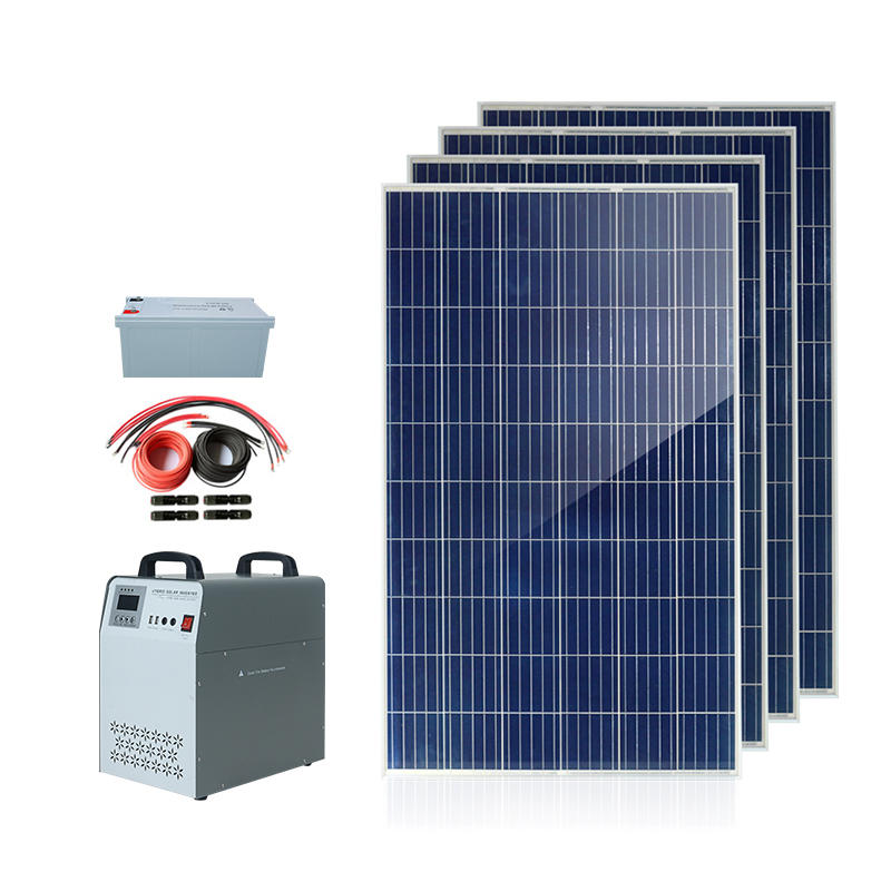 Hybrid 220 volt power inverter off grid 300W 500W 1KW home solar panel inverter system