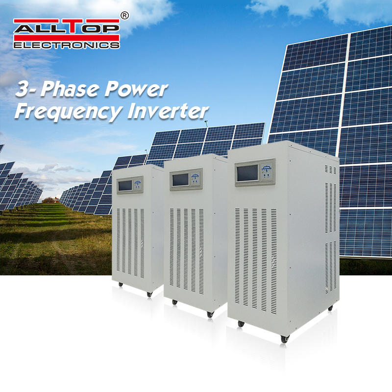 Intelligent house hold Power system off gird 40KW Inverter 3 Phase AC Solar Power Inverter