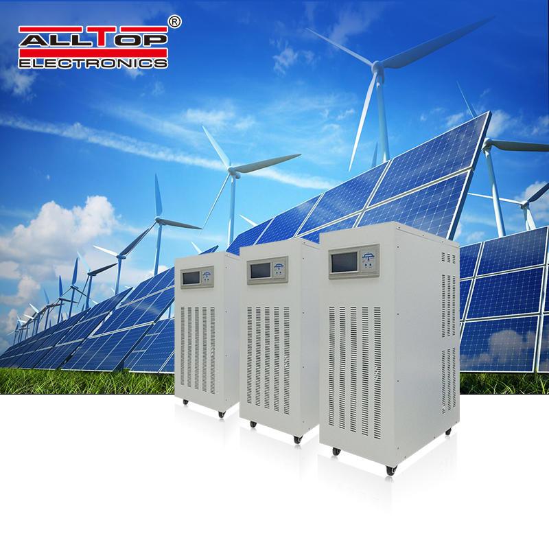Intelligent house hold Power system off gird 40KW Inverter 3 Phase AC Solar Power Inverter