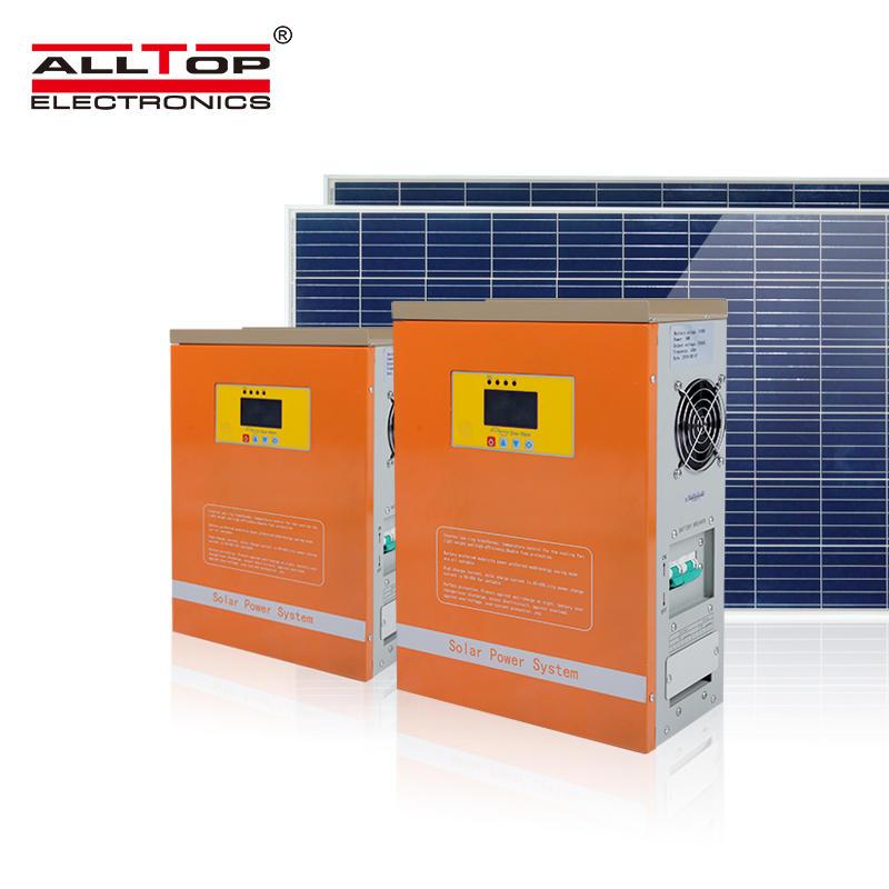 Hot selling 1kw 2kw 3kw on grid system solar generator solar energy system