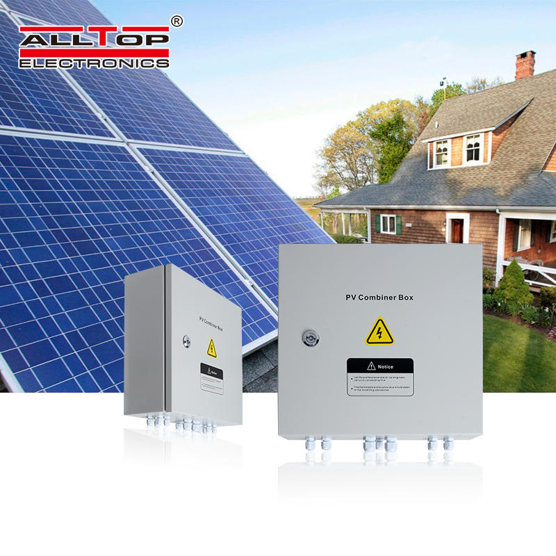 Pv combiner box solar panelac dc for ip65 solar power inverter system