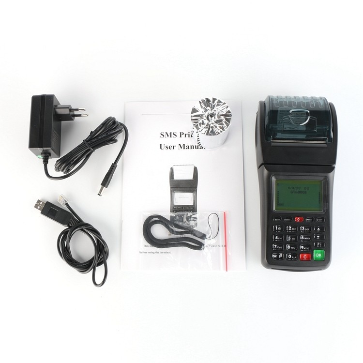 GPRS Enable Bill POS Machine Compatible with 3G