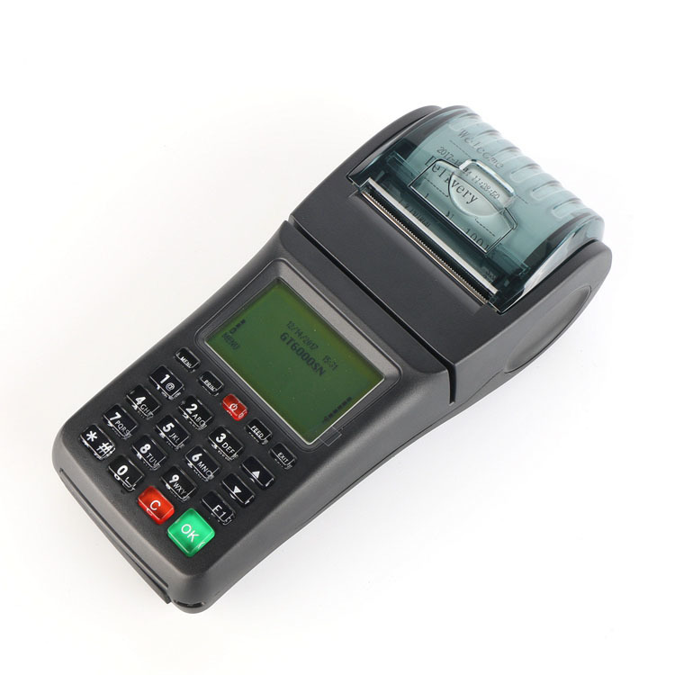 Handheld 3G GPRS SMS USSD Pos System Airtime Vending Machine