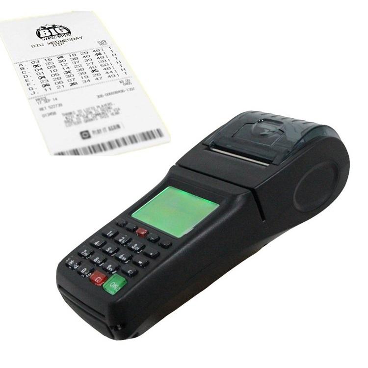 Lottery Software POS Vending Machine WCDMA POS Printer