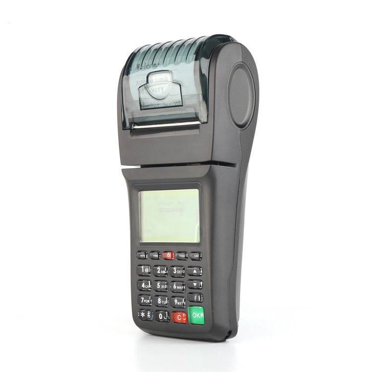 Handheld 3G Retail Pos Terminal Wireless Printer for Lottery System