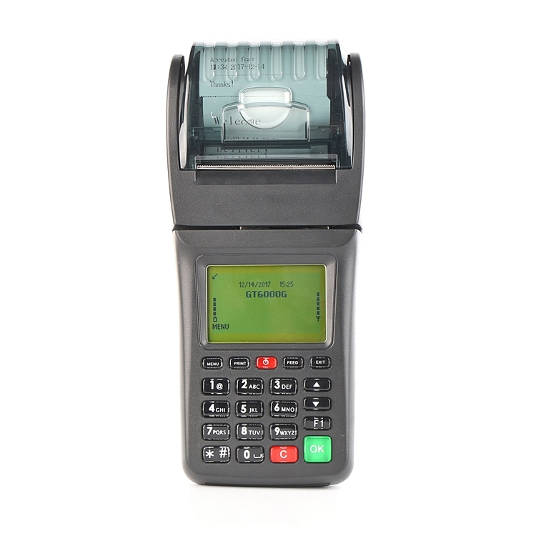 Portable Wireless Pos Thermal Receipt 3g Printer For Restaurant Food Online Order , Lottery, Bill Payment