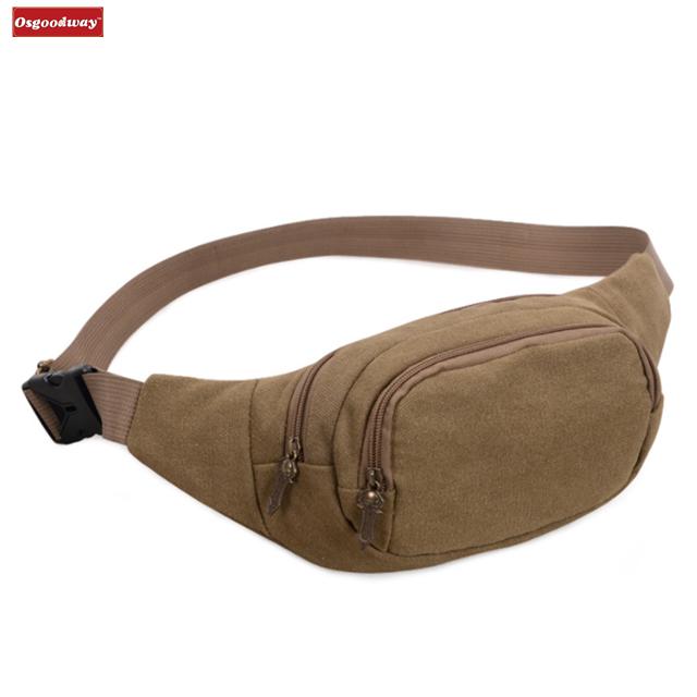 Osgoodway Hot Sale Wholesale Bumbags Fanny Packs for Running Hiking Waist Bag Outdoor Sport Hiking Waistpack