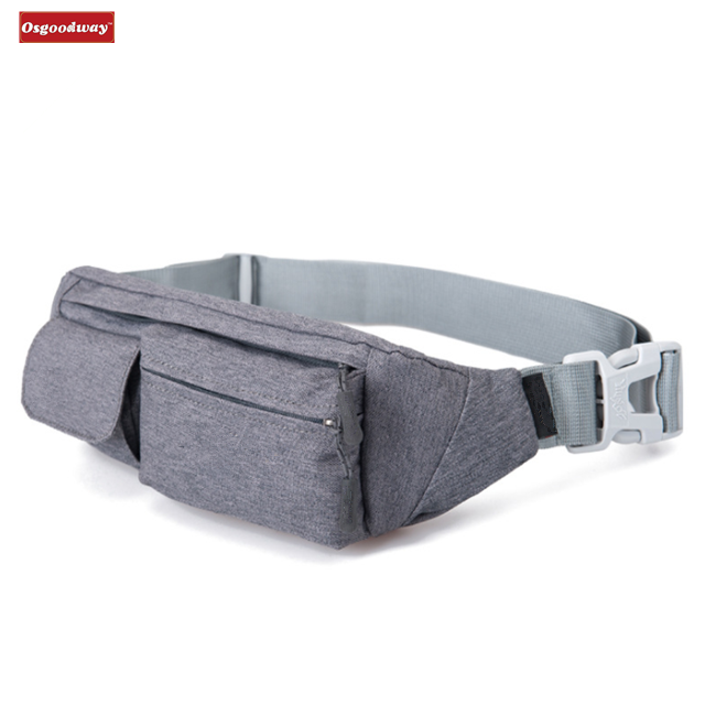 Osgoodway Water Resistant Designer Custom Logo Fanny Pack Waist Bag Phone for Running Hiking