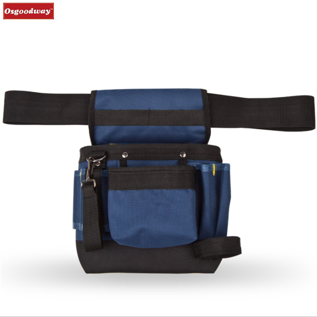 Osgoodway Hot Sale Multi-Purpose Electrician Tool Pouches Gadget Belt Waist Bag for Work Outdoor