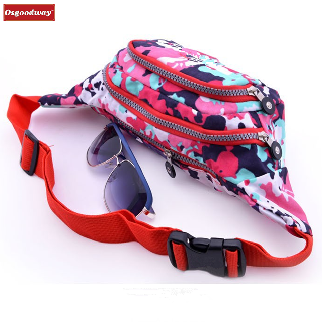 product-Osgoodway-Osgoodway New Products Water Resistant Fanny Women Waist Bag With Zip Pocket Compa