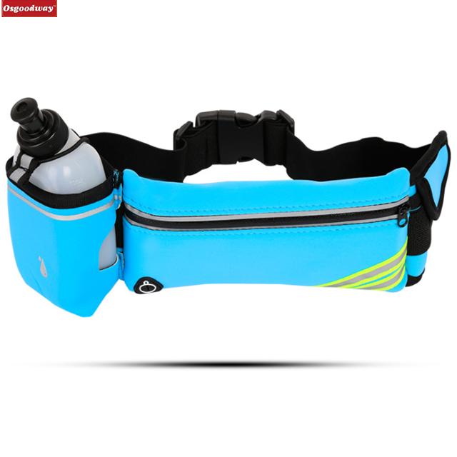 product-Osgoodway-Osgoodway Waterproof Fitness Belt Lightweight Waistpack Bumbag Fanny Pack Bum Bags