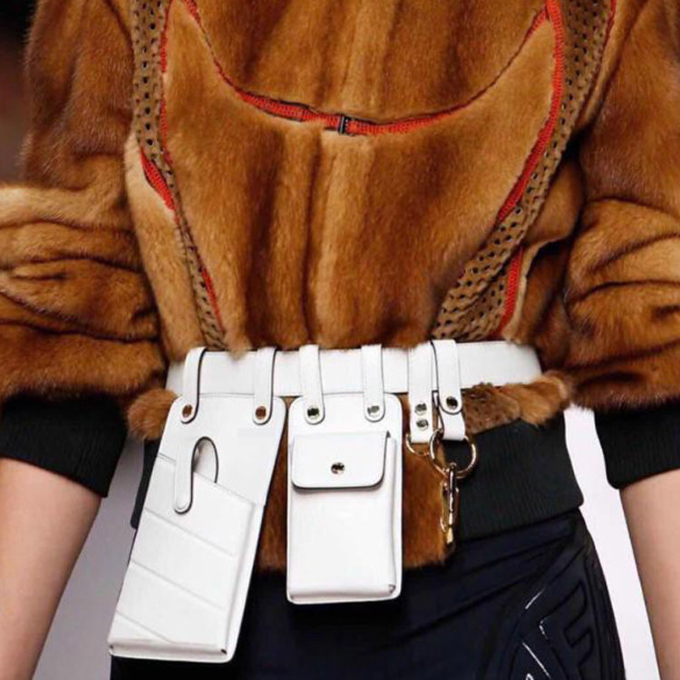 product-Osgoodway-Osgoodway2 Wholesale Price Fashion Women PU Leather Waist Belt Bag Girl Unique Sma