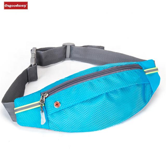 Osgoodway12 Outdoor Waistpack Running Belt Waterproof Bum Bag Cycling Waist Bags for Hiking
