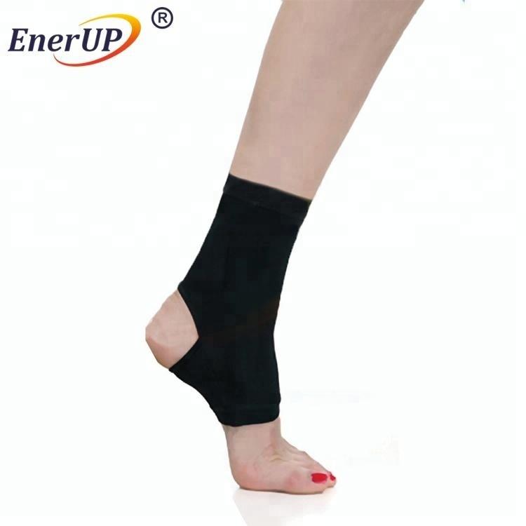 Copper Adjustable Stabilizer Elastic Ankle Brace Support