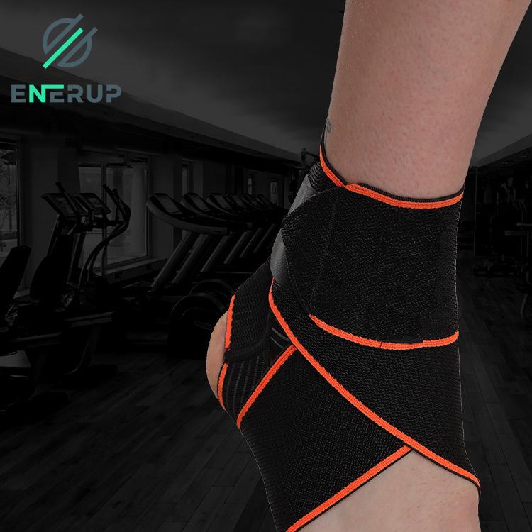 Enerup Plantar Fasciitis Sport Ankle Walker Support Brace Straps Wrap