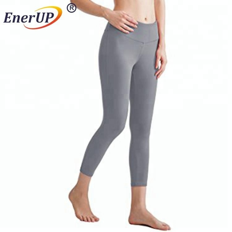 compression yoga pants copper polyester infused fitness tight