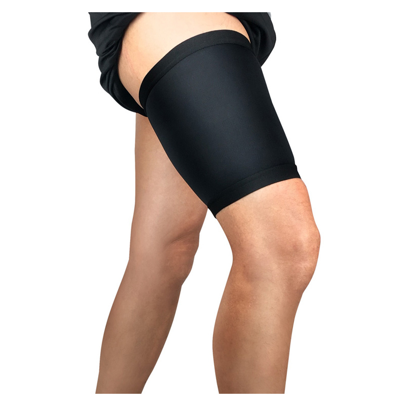 Hamstring support thigh sleeve compression brace
