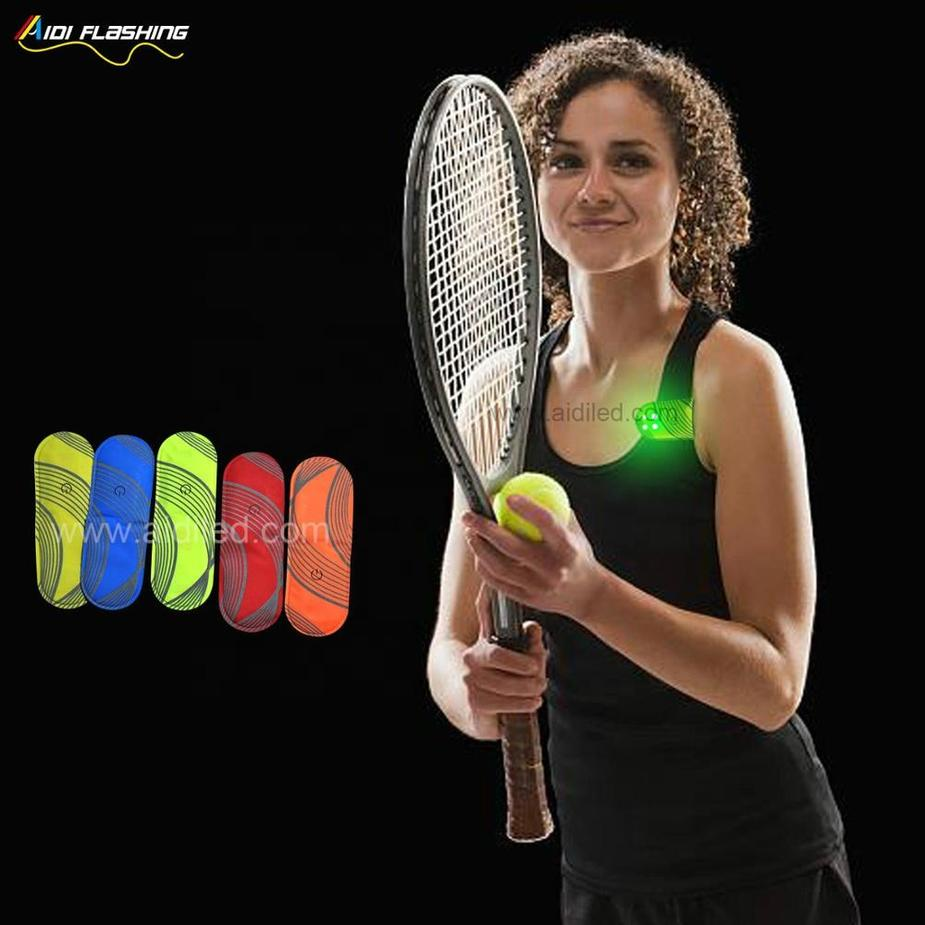 Led Safety Lights for Running NIght Warning Magnet Light Attach on Bag Clothes Reflective Safety Lights with Led