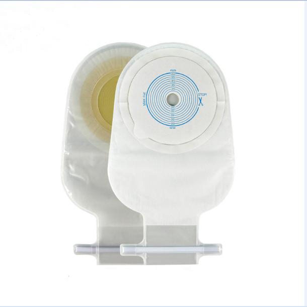 CELECARE One-Piece Open Ostomy Bag Stoma Colostomy Bag 15*27.5CM
