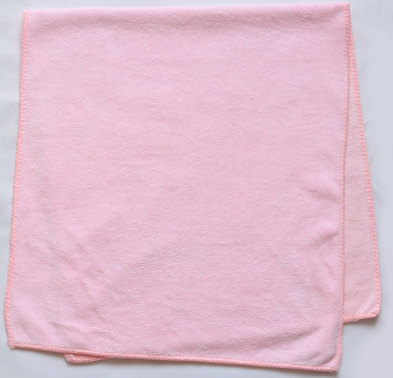 High quality yoga gym sport 100% polyester suede velvet plain blank microfiber face towel