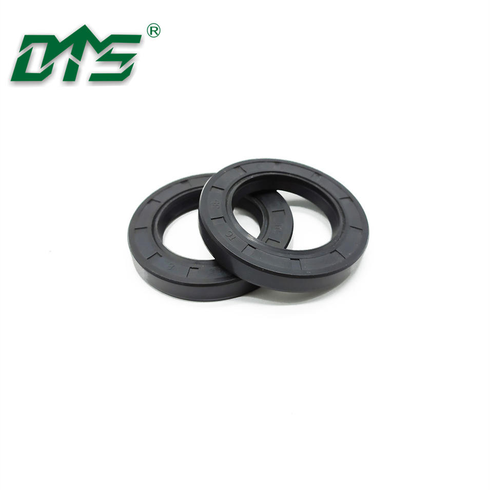 Radial Sahft Oil Seals TC NBR Rubber Covered Double Lip