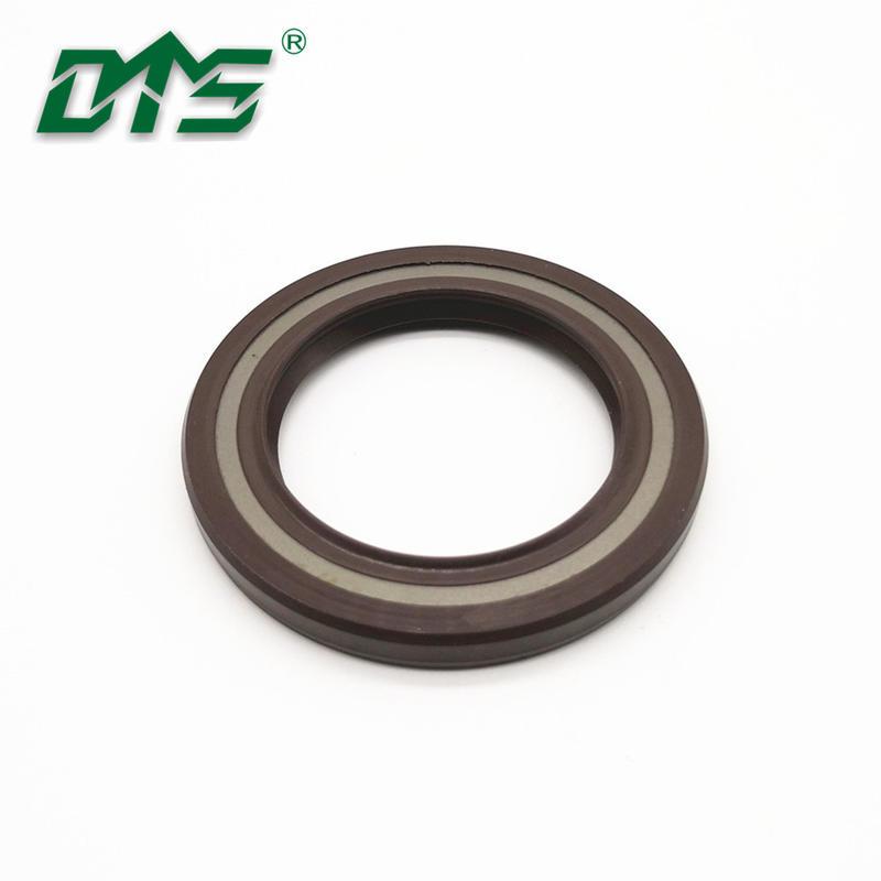 Hydraulic high pressure FKM FPM rubber skeleton oil seal TCV