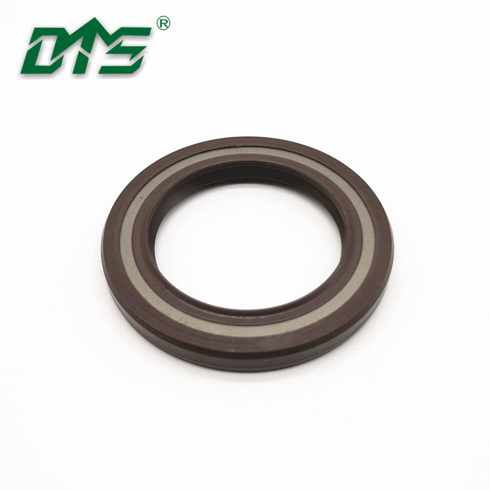 Hydraulic high pressure FKM FPM rubber skeleton oil seal TCV