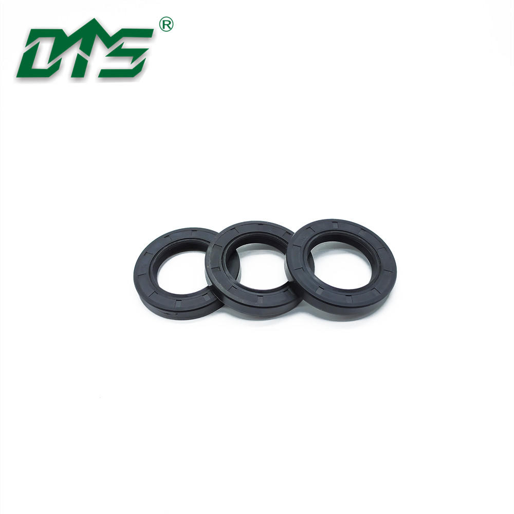 Small Sizes Shaft Oil Seal TC With NBR Rubber Case and Stainless Steel