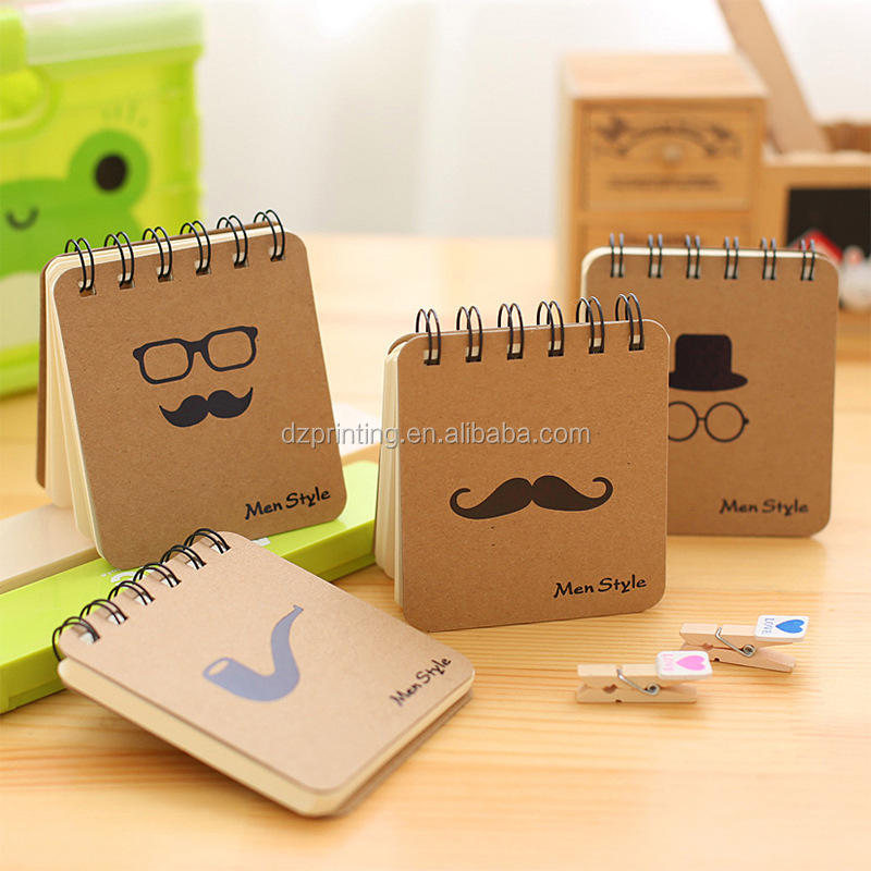Wholesale Creative Mini Kraft Paper Blank Notebook Daily Small Office Notepad Pocket Notebook