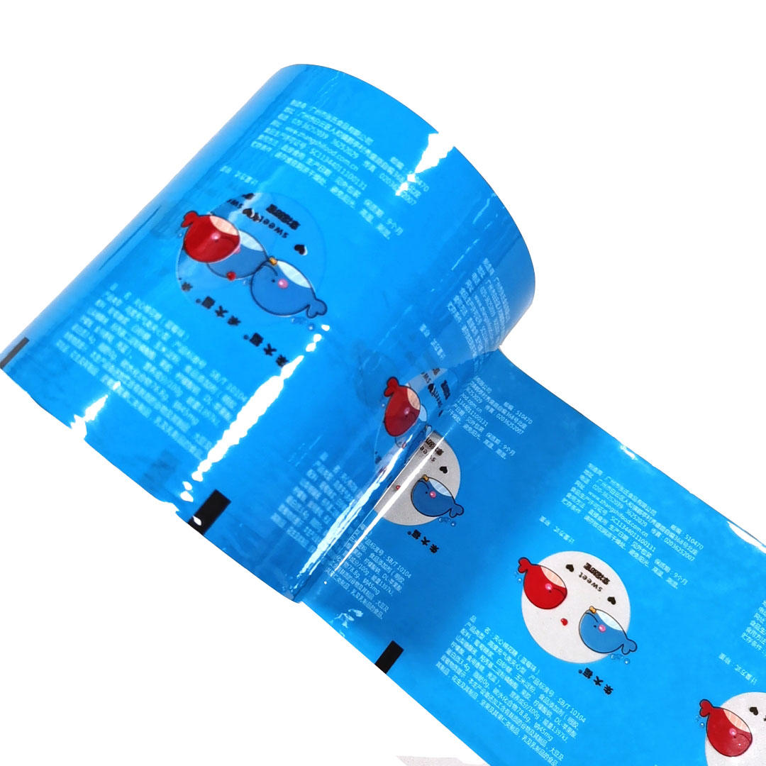 Auto machine Packing roll Film for Food Snack candyfloss