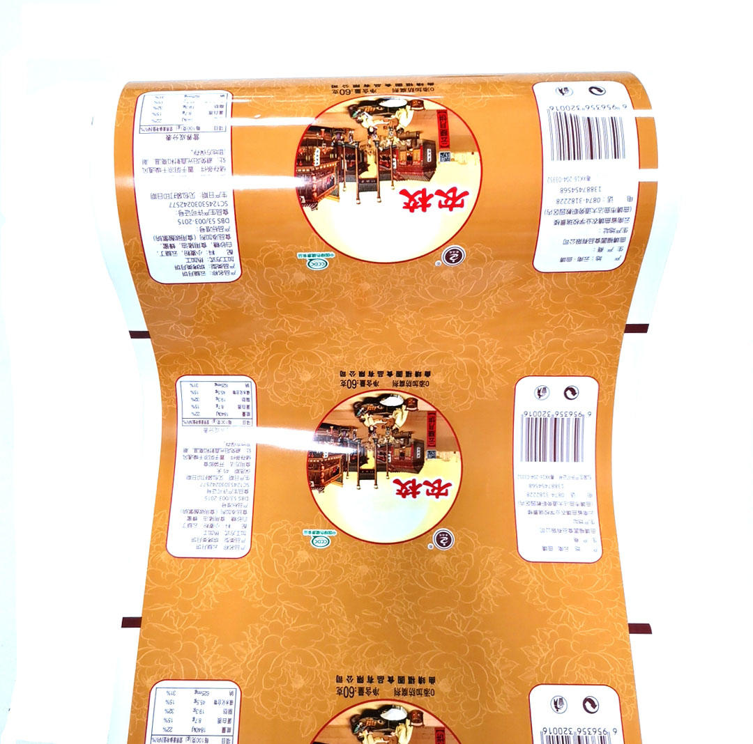 Automatic heat sealing roll film for Moon Cake