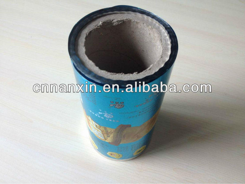roll film for potato chips packaging with OPP VMOPP material