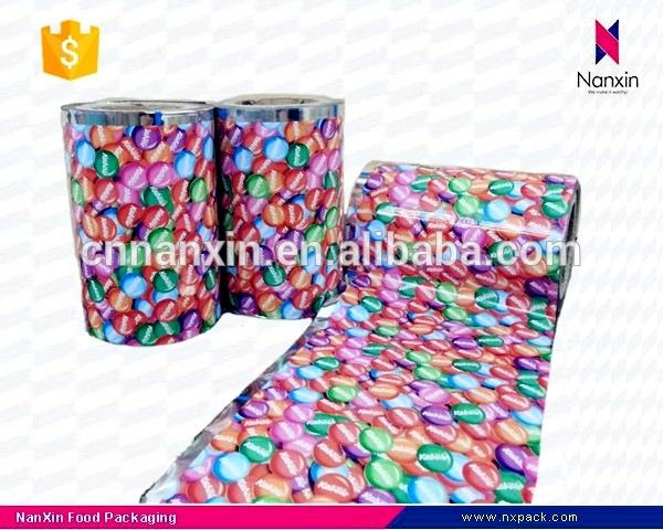Automatic packaging film laminated OPP CPP food packaging roll film