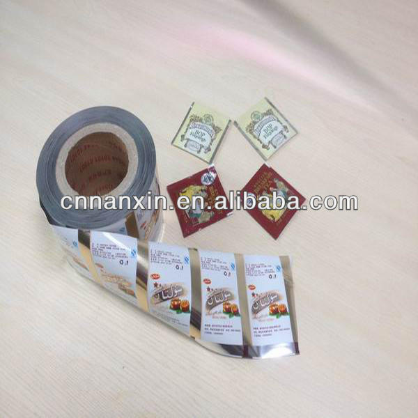 sachet roll film plastic laminated rilm for food packaging