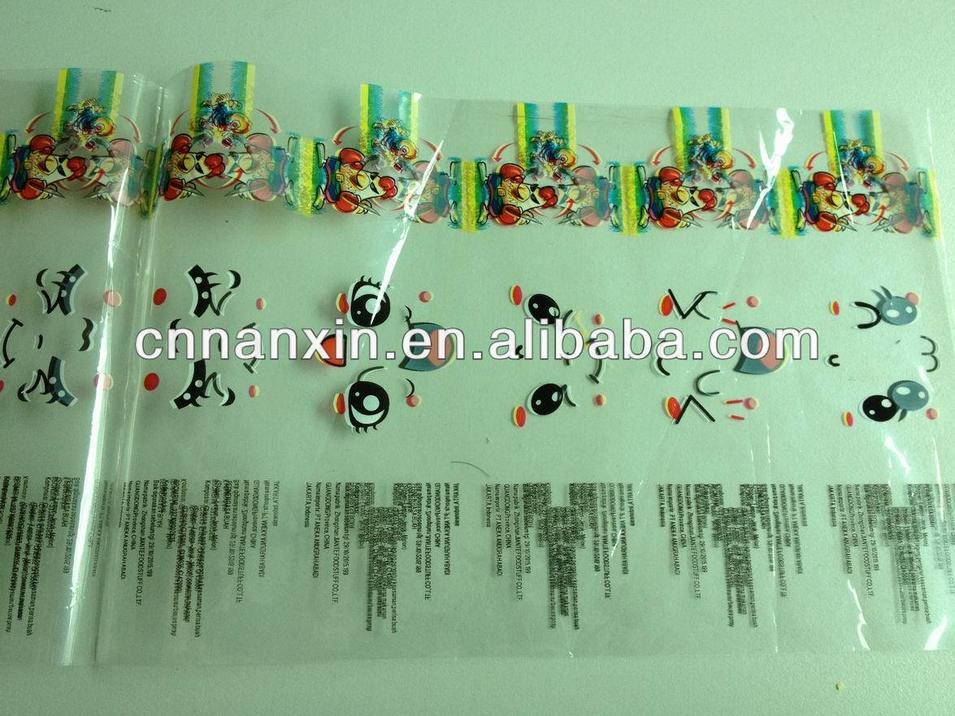 PET bottle label shrink PVC film