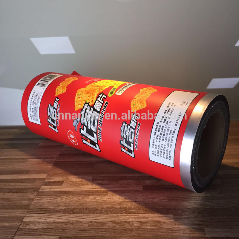 Automatic packaging film chips packaging films snacks packing film
