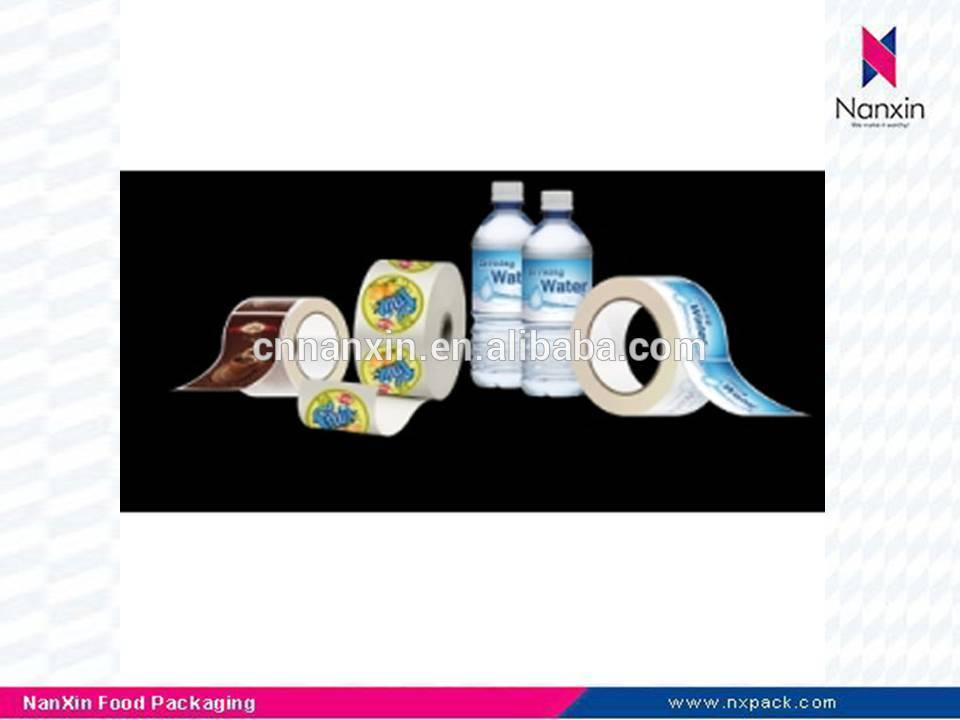 adhesive labels for plastic bottles