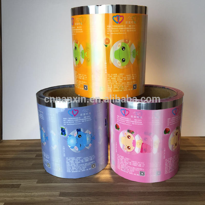 Candy sachets packaging film snack food packaging film