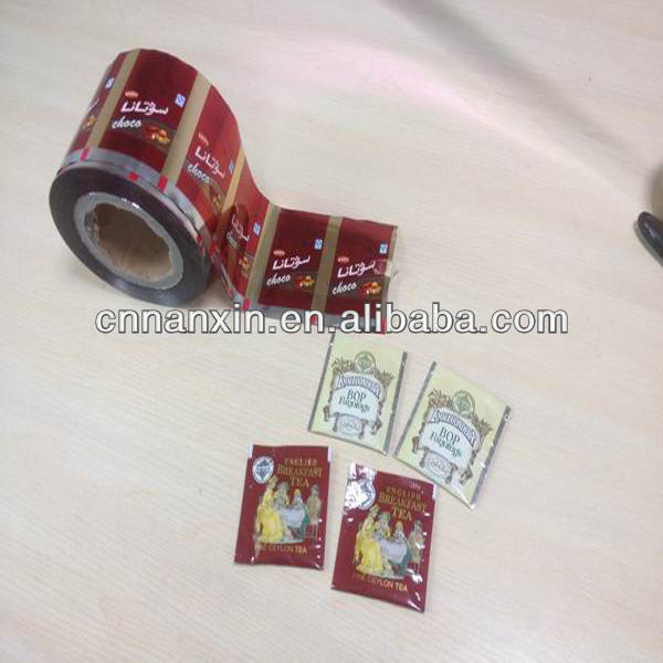 sachet roll film plastic laminated rilm for food packaging