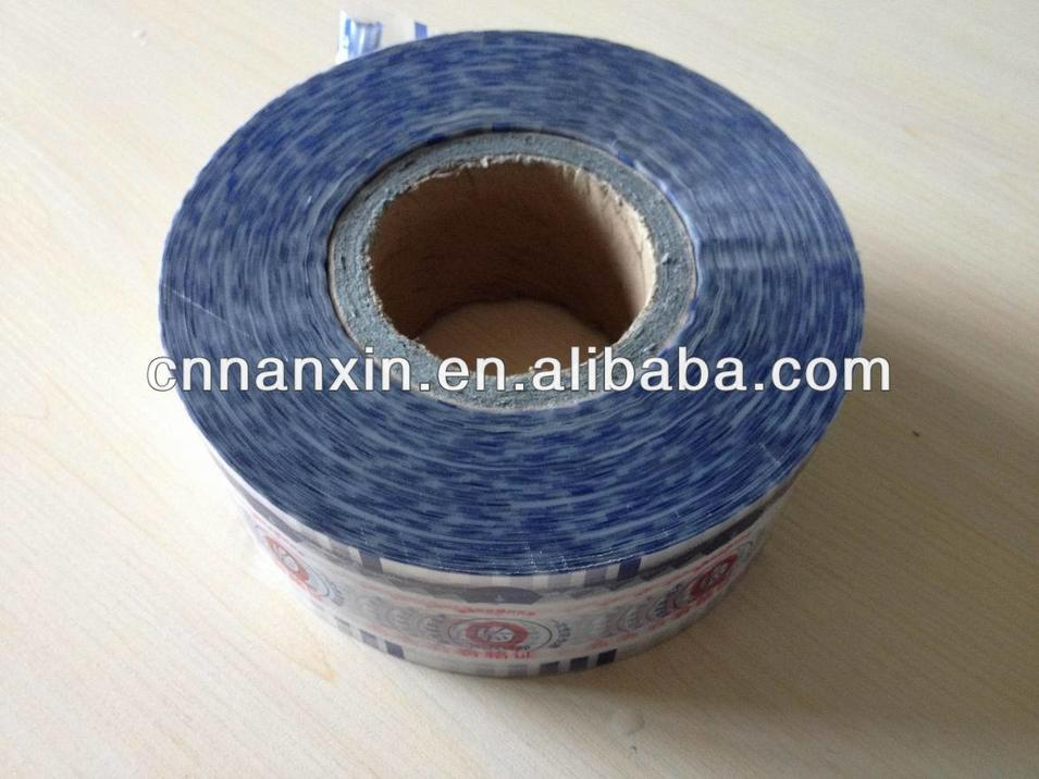 PVC shrink film for bottle label