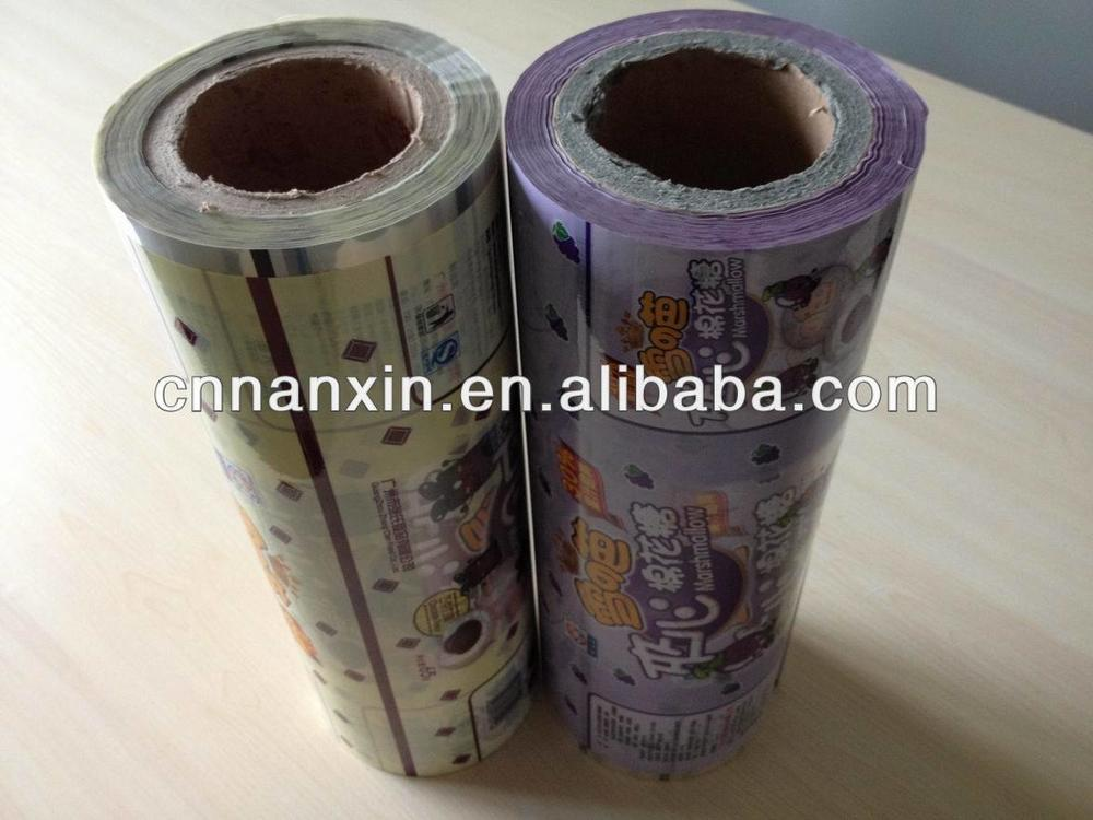 plastic food packaging film for cotton candy