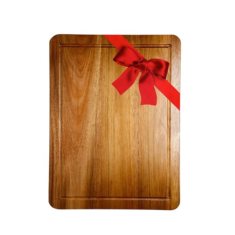 Vitalucks Factory Price Extra Large Acacia Oak Bamboo Cutting Board Olive Wood Chopping Board