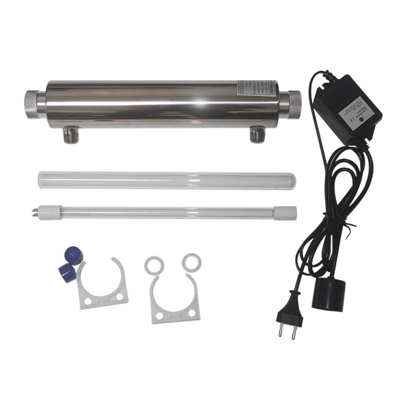 UV water filter system with 16W 2GPM 304 stainless purification system